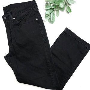 LEVIS   sz 34 men's gray 514 jeans